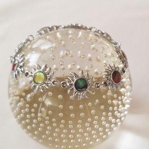 Jewelry - Silver sun bracelet